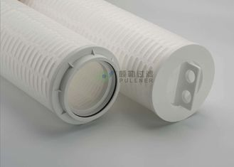 China RO PP Pleated High Flow Filter Cartridge Length 1016mm Max Flow Rate 70m3/H supplier