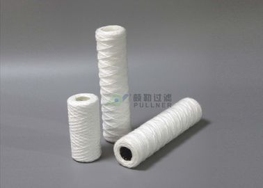 China 5 Micron Cotton Fiber String Wound Filter Cartridge FDA Certificate RO Pre - Filters supplier