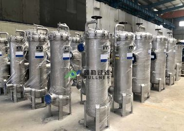 China Micro Pleated Stainless Steel Filter Housing For Liquid Filtration Internal Thread supplier