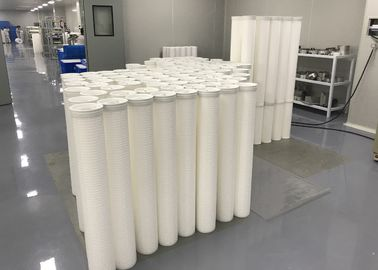 China Replacement High Flow Water Filter Cartridge Pleated Polypropylene Microfiber FDA supplier