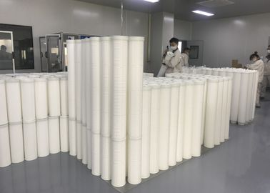 China FRP / Fiberglass Pipe High Flow Filter Cartridge Single Open Ended Pre Filtration For RO System supplier