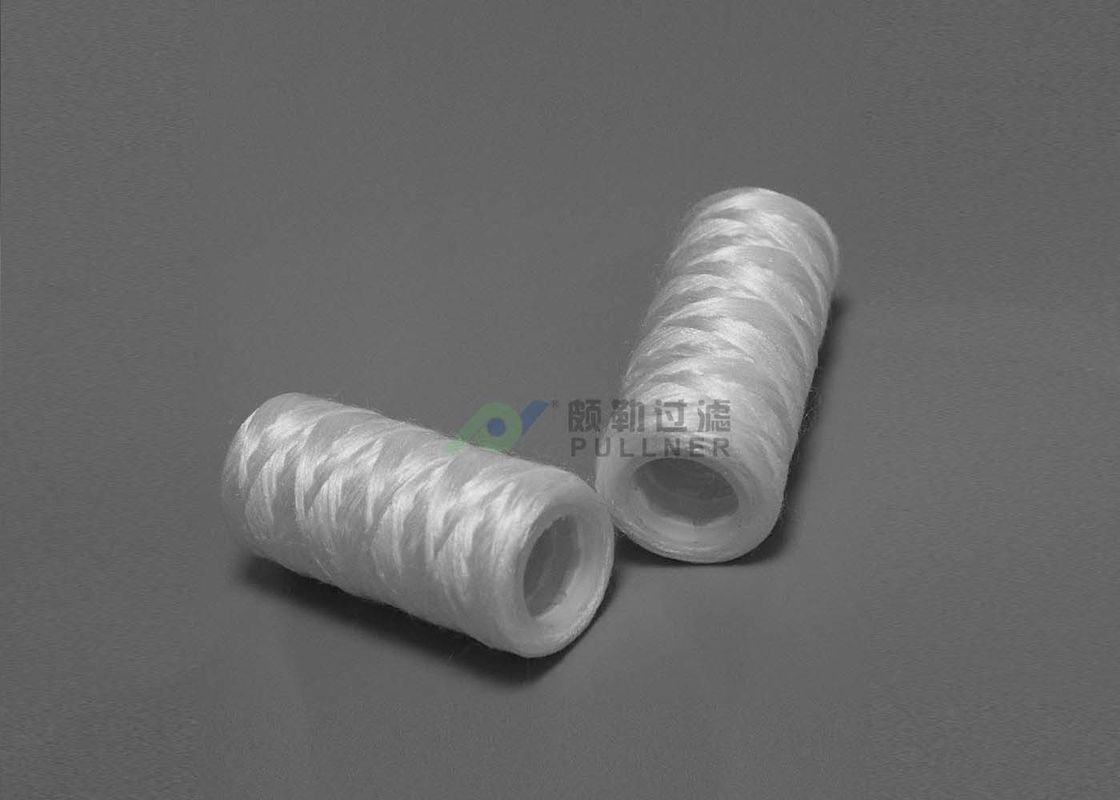 "Glass Fiber String Wound Micron Filter Cartridges 5 Micron 10"" 20"" 30"" 40"""