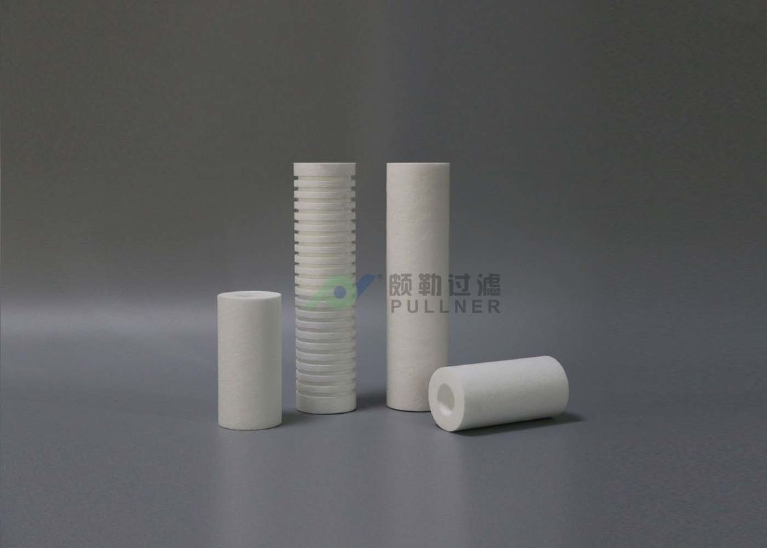 5 Micron 10 Inch Polypropylene Filter Cartridge High Dirt Holding Capacity