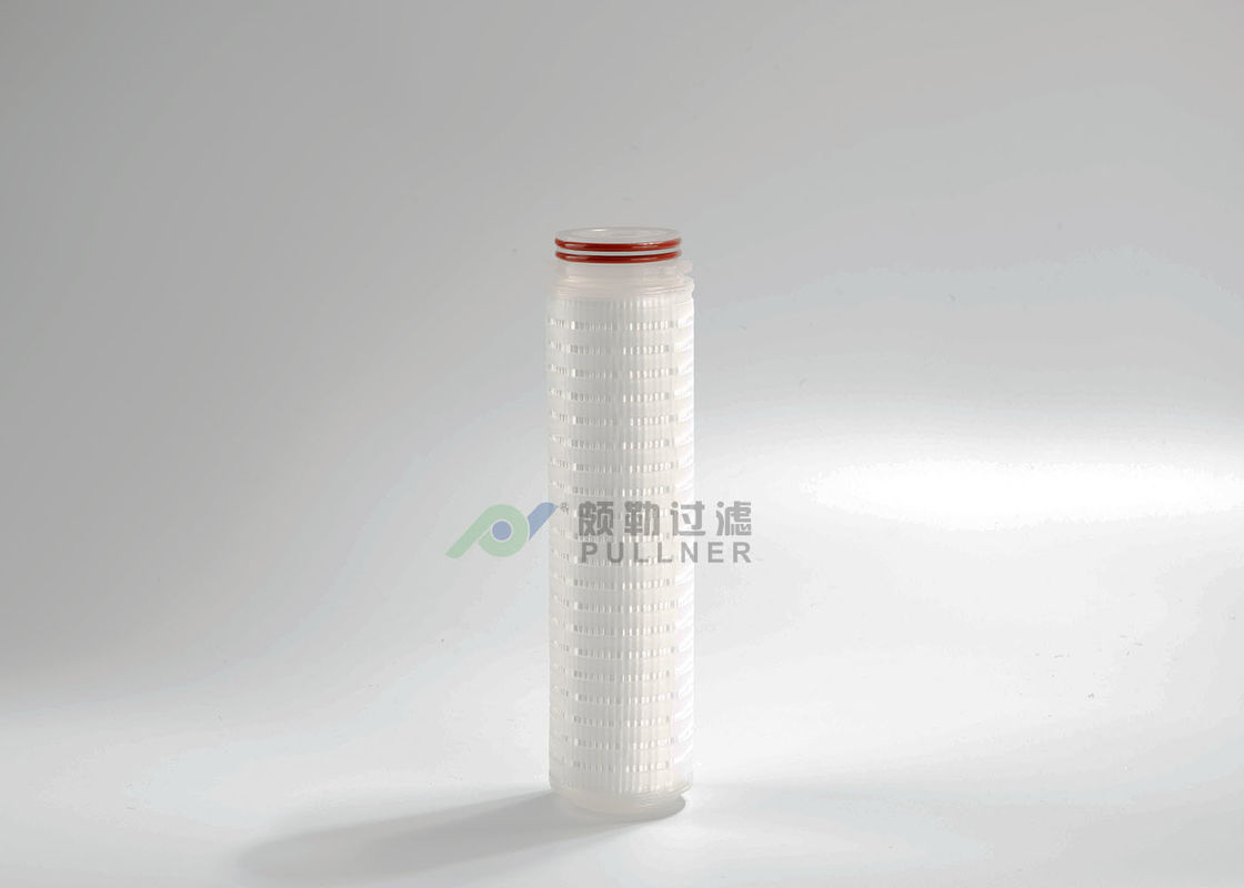 "0.1 Micron Food and Beverage Water Filter 10"" Nylon Cartridge OEM Accepted"