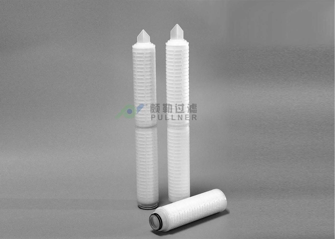 OD 69mm PP 5 micron pleated water filter cartridge
