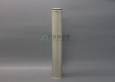 China PET Solvent High Temperature Water Filter 120℃ Pleated Electroplating distributor