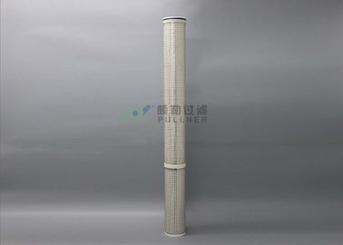 "China Polyester 60"" High Temperature Water Filter 120℃ Petrochemical OD 152mm factory"