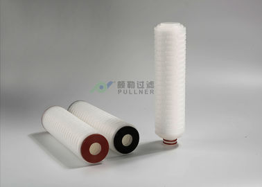 China PP Pleated Water Filter Cartridges , Industrial Cartridge Filters 5 Micron RO Filtration distributor