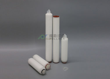 China Food Beverage PP Pleated Filter Cartridge 5 Micron Water Filters For Electronics Industry distributor
