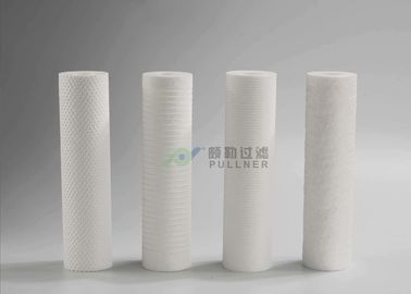 China PP Spun Melt Blown Filter Cartridges 5 Micron Water Filter Petrochemical Solvents factory