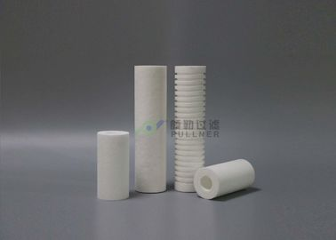 "China 10"" 20"" 30"" 40"" Water Filter Cartridges , 5 Micron Water Filter OD 60~63mm distributor"