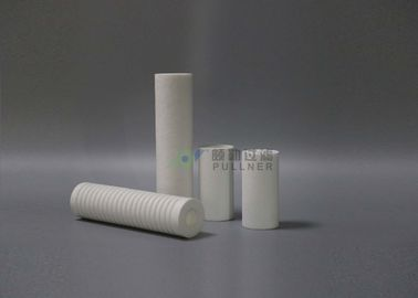"China High Efficiency 10"" PP Melt Blown Filter Cartridge , 5 Micron Water Filter Cartridge factory"